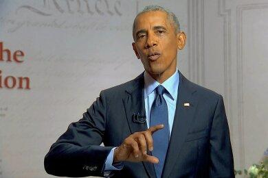 Offene Kritik eines Amtsvorgängers am amtierenden Präsidenten ist in den USA extrem unüblich. Dieses Tabu brach Ex-Präsident Barack Obama am Mittwochabend.