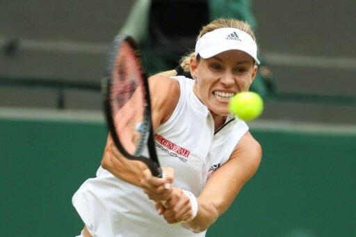 Angelique Kerber spielt um den Finaleinzug in Wimbledon