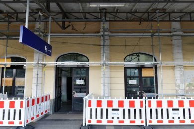 Bahnhof Freiberg