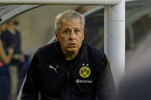 Sein Team verlor mit 1:3 gegen Neapel: Lucien Favre