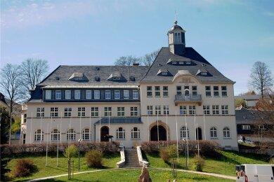 Das Klingenthaler Rathaus.