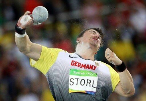 David Storl holt am Ende den dritten Rang und Bronze