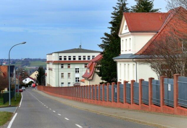 Die Wettiner-Kaserne in Frankenberg.