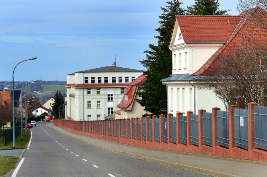 Blick auf die Wettiner-Kaserne der Bundeswehr in Frankenberg. Das Areal soll in den Tag der Sachsen mit einbezogen werden.
