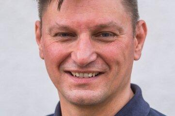 Stefan Berghold, Vorsitzender des Feuerwehrmusikzuges Neukirchen-Adorf.