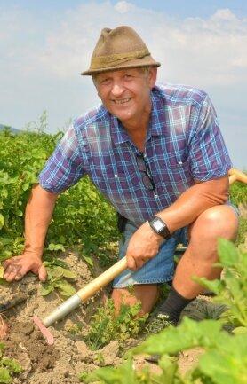 Ulrich Gündel gilt als Kartoffelpapst im Vogtland.