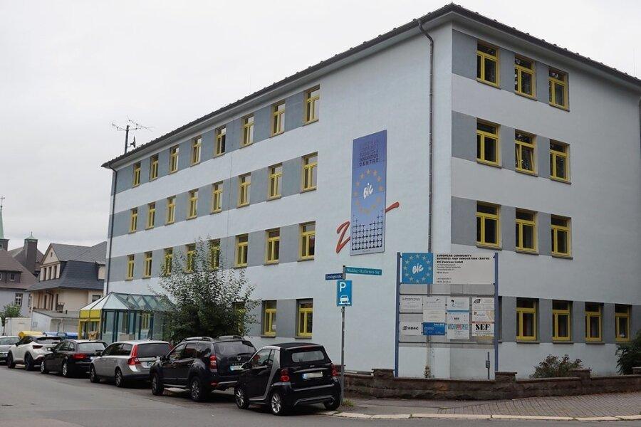 Am BIC-Stammsitz an der Lessingstraße in Zwickau werden fast nur noch Räume vermietet.