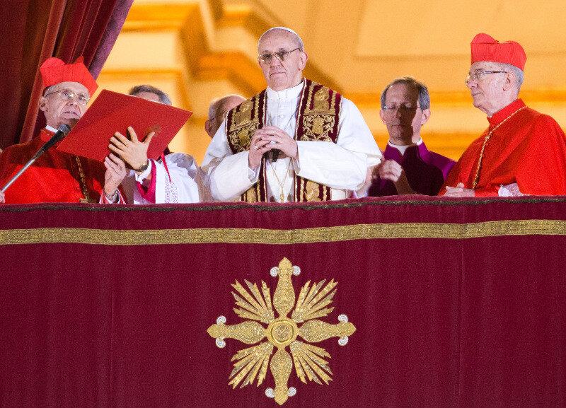 Der Kardinal Jorge Mario Bergoglio aus Argentinien ist neuer Papst der katholischen Weltkirche.