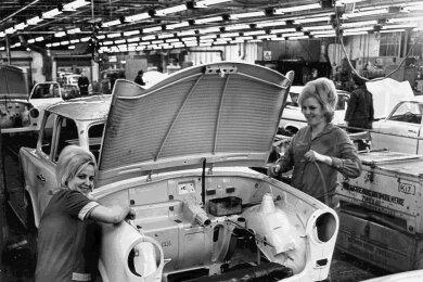 Der beim VEB Sachsenring Zwickau gebaute Trabant war identitätsstiftend für eine ganze Region - und ist es für viele Westsachsen bis heute.