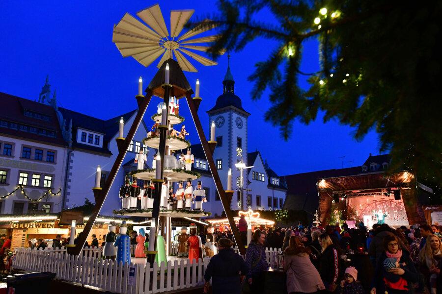 Mit neuer Aufteilung und viel Abstand: Freiberger Christmarkt soll stattfinden