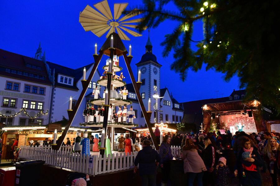 Freibergs OB Krüger warnt vor Christmarkt-Absage