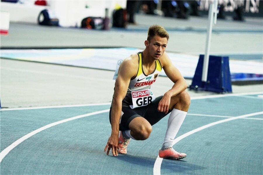 400-Meter-Spezialist Marvin Schlegel will bei den Deutschen Meisterschaften am Wochenende seinen Titel verteidigen und Olympia näher kommen.
