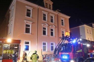 Die Feuerwehr war mit einem Großaufgebot im Einsatz.
