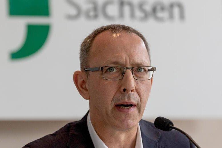 Sachsens  AfD-Partei- und Fraktionschef Jörg Urban