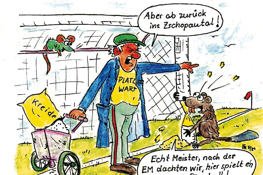 Fußball und Nagetiere