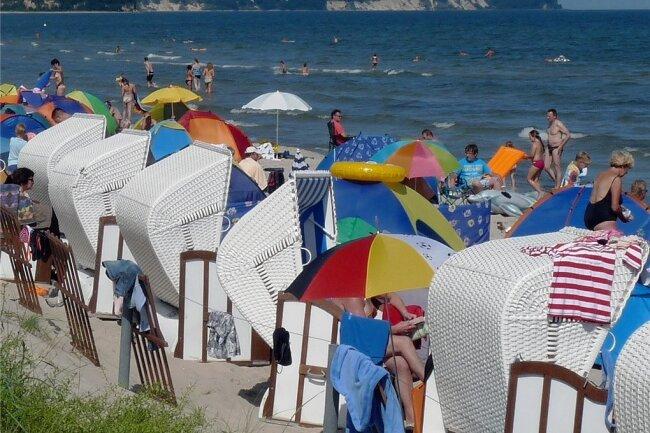 Urlaub an der Ostsee ist bei Erzgebirgern nach wie vor beliebt.