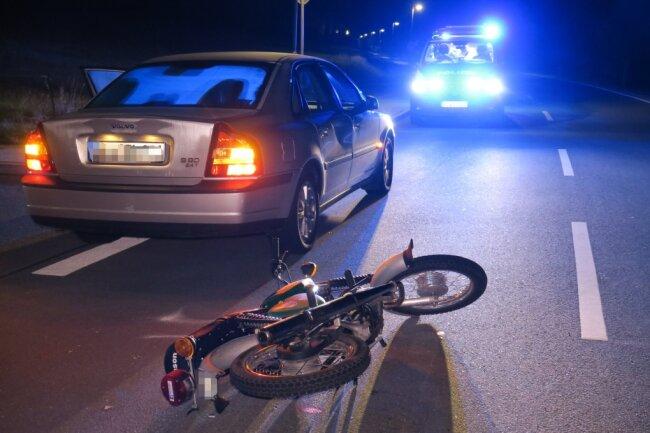 In Schönheide wurden zwei Frauen bei einem Unfall verletzt.