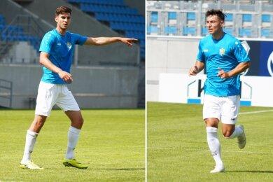Mit Danny Breitfelder (links) und Nils Köhler hat der CFC zwei neue Spieler verpflichtet.