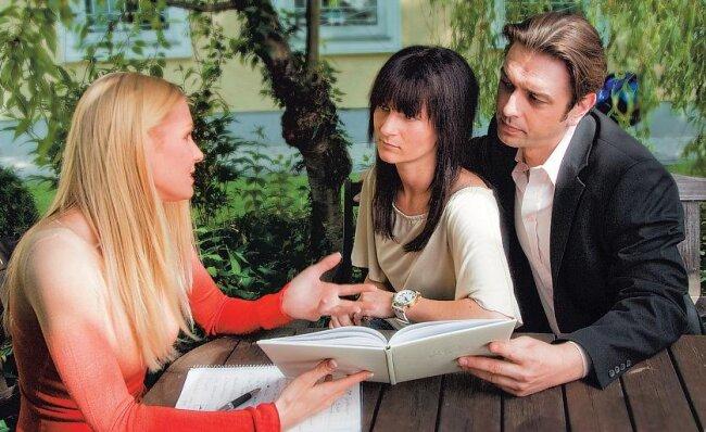 Ein Wedding Planer kann eine große Hilfe sein.