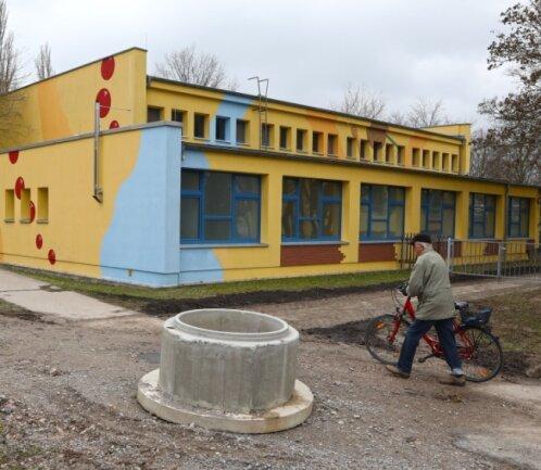Die Turnhalle der Friedrich-Engels-Schule in Meerane soll energetisch saniert werden.