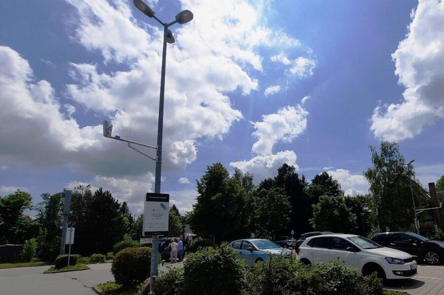 Wer auf dem Parkplatz vorm Tedi-Markt in Geyer länger als eine Stunde parkt, muss 30 Euro Vertragsstrafe zahlen.