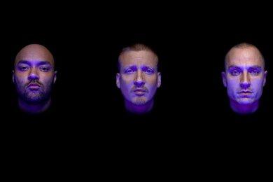 Die Rapper Tarek, Nico und Maxim (v.l.) sind K.I.Z.