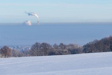 Von den Höhen in und um Chemnitz bieten sich immer wieder neue Perspektiven.