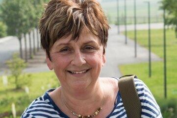 Petra Rößler war während der Landesgartschau Gästeführerin und ist noch immer in der gleichnamigen Arbeitsgruppe aktiv.
