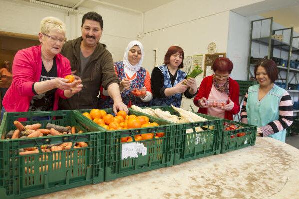 Flüchtlingsandrang an den Tafeln: Lebensmittel werden rationiert
