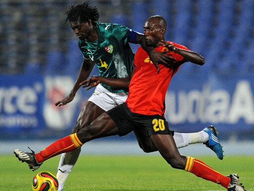 Angola und Togo trafen im August 2009 in einem Freundschaftsspiel aufeinander