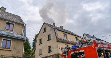 Erstmalig kam das neue Tanklöschfahrzeug der Feuerwehr Neudorf zum Einsatz.