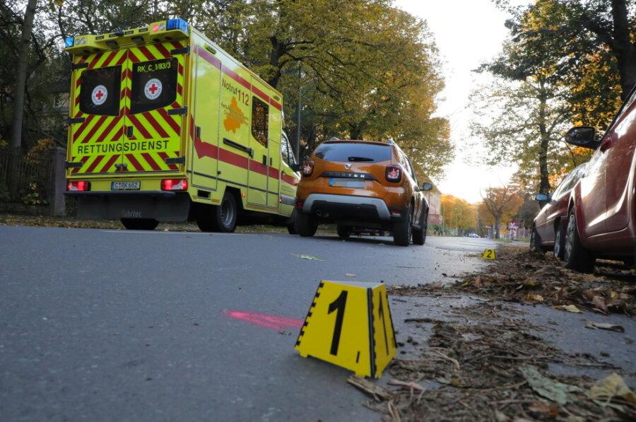 Kleinkind bei Unfall auf Scheffelstraße schwer verletzt