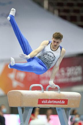 Ivan Rittschik turnte seinen letzten Mehrkampf bei einer Deutschen Meisterschaft.