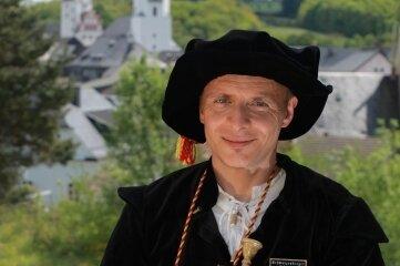 Gerd Schlesinger, Türmer in Schwarzenberg.