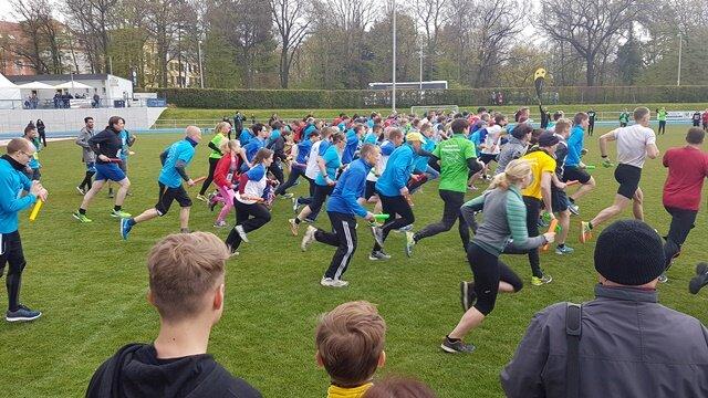 Rund 1000 Aktive konnte der Kreissportbund Mittelsachsen zum 25. Landkreislauf in Mittweida begrüßen.