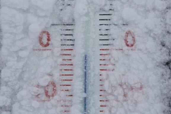 Temperatur fällt auf minus 22,7 Grad