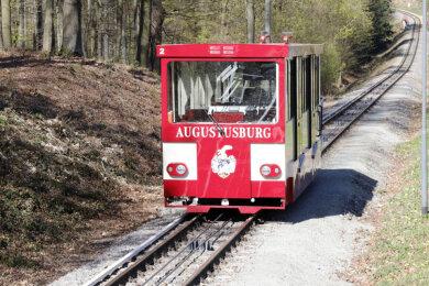Die Drahtseilbahn Augustusburg fährt wieder.