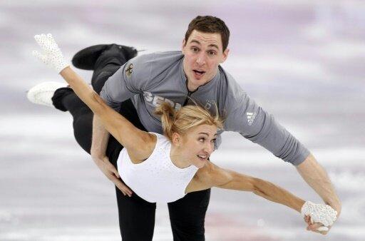 Wettkampf-Pause für Olympiasieger  Savchenko und  Massot