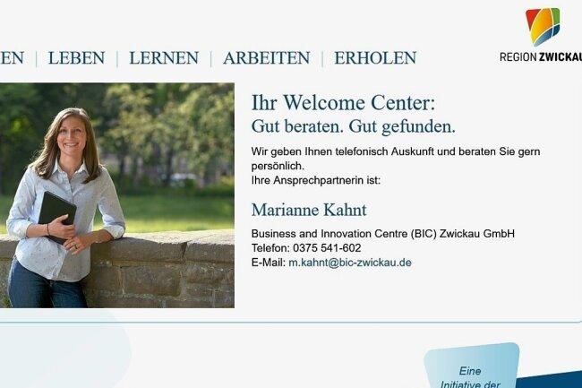 Eine neu gestaltete Internetseite soll einen ersten Überblick über das Leben und das Arbeiten im Landkreis Zwickau geben.