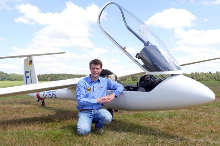 Markus Uhlig ist selbst ein erfolgreicher Pilot und Mitglied der Nationalmannschaft.
