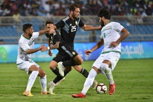 Argentinien besiegt den Irak ohne Probleme
