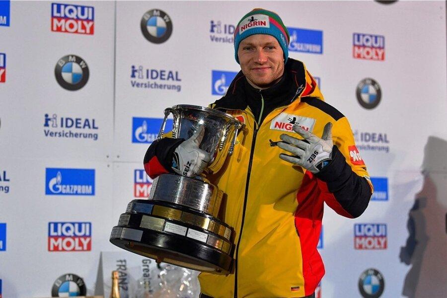 Zu Hause ist es am schönsten: In Altenberg wurde Francesco Friedrich im vergangenen Winter Weltmeister im Zweier- und im Viererbob.