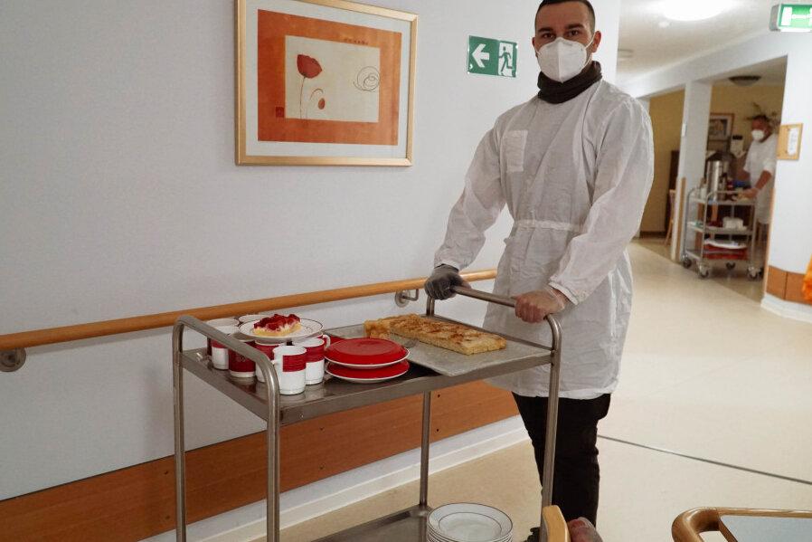 Bundeswehr hilft im Glauchauer Klinikum