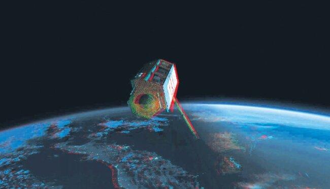 Während der Vermessung der Welt flogen die Zwillingssatelliten in enger Formation mit wenigen hundert Metern Abstand, seit Ende dieser Phase sind sie etwa 76 Kilometer voneinander entfernt, meist im Verfolgermodus.