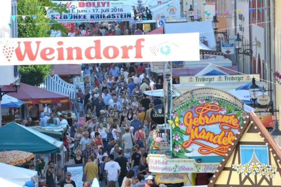 Besucherandrang auf der Burgstraße wie beim Bergstadtfest 2020 in Freiberg kann es in diesem Jahr nicht geben.