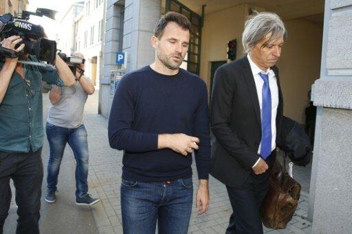 Ivan Leko verlässt das Büro des Untersuchungsrichters