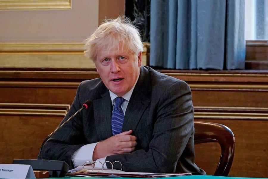 Boris Johnson - Britischer Premier
