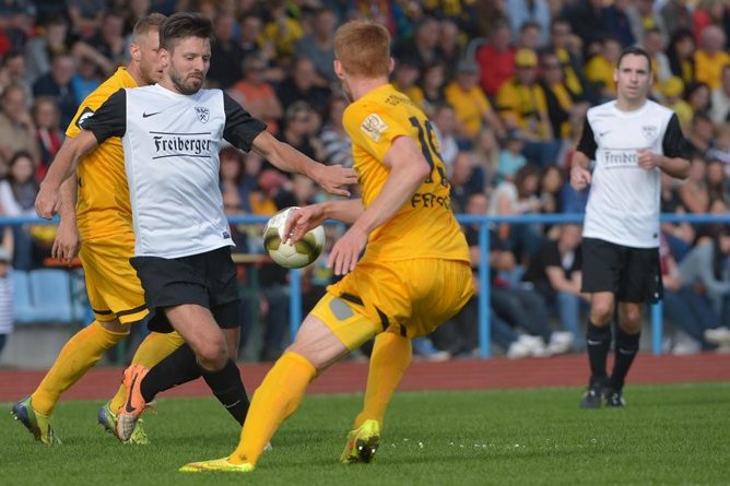 Landespokal: BSC Freiberg verliert gegen Dynamo Dresden