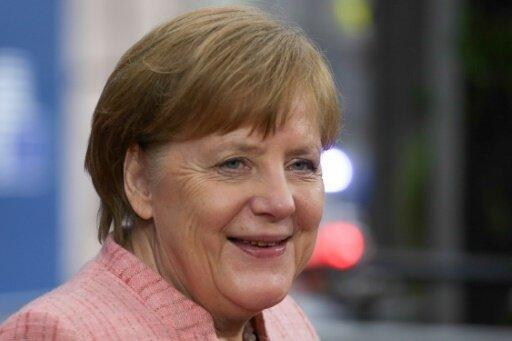 Schirmherrin der Rodel-WM: Bundeskanzlerin Angela Merkel