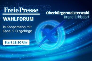 Mit diesem Eröffnungsbild startet das Online-Forum am Dienstagabend.